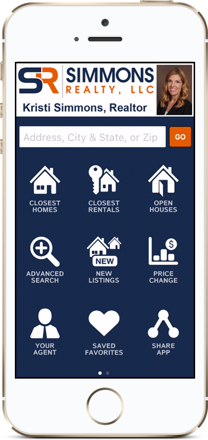 Simmons Realty Mobile App